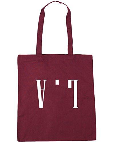 hippowarehouse-la-upside-down-tote-shopping-gym-beach-bag-42cm-x38cm-10-litres