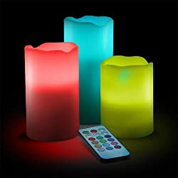exciting Lives Color Changing LED Candles