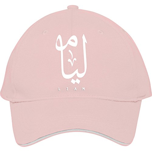 New Fashion Pink Trend Male/female Snapback Adjustable Baseball Cap Liam-white Hat