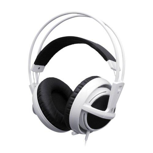 SteelSeries Siberia v2 Full-size Headset (white) 51100の写真01。おしゃれなヘッドホンをおすすめ-HEADMAN(ヘッドマン)-