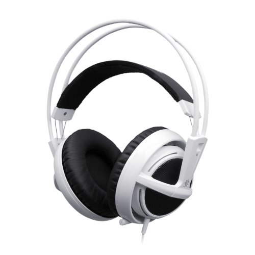 SteelSeries Siberia V2 Full Size Headset with Microphone - White (PC)