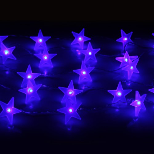 Innoo Tech Battery Operated 30 Led String Lights For Indoor Bedroom Party Christmas Wedding Decorative(Blue Star)