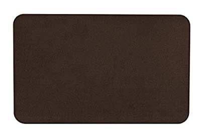Skid-resistant Carpet Indoor Area Rug Floor Mat - Chocolate Brown - Many Other Sizes to Choose From