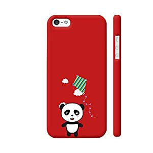 Colorpur Panda With Colorful Kite Designer Mobile Phone Case Back Cover For Apple iPhone 5 / 5s   Artist: Torben