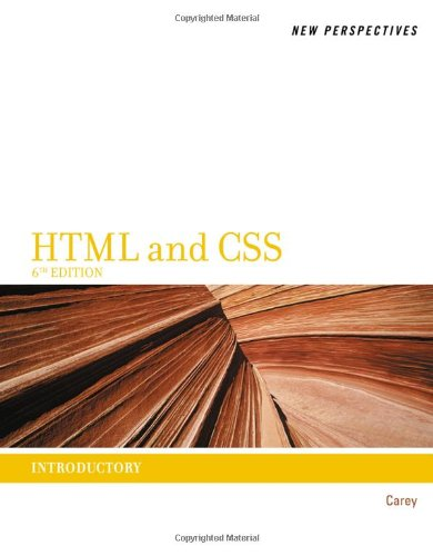 New Perspectives on HTML and CSS: Introductory