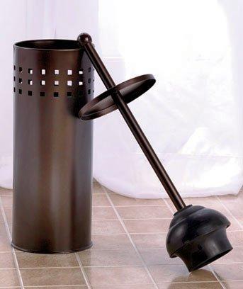 toilet plunger oil rubbed bronze by getset2save b00lmbqg36. Black Bedroom Furniture Sets. Home Design Ideas