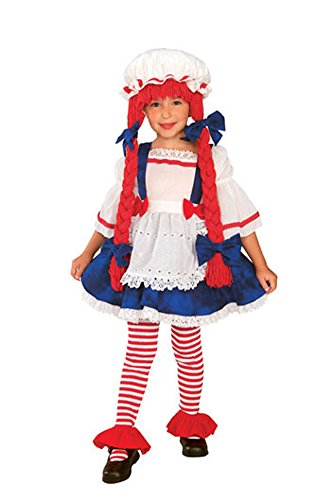 baby-girls - Rag Doll Girl Toddler Costume Halloween Costume