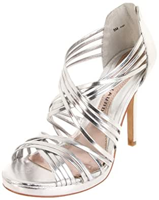 Chinese Laundry Women's Imagine Sandal,Metallic Silver,7.5 M US
