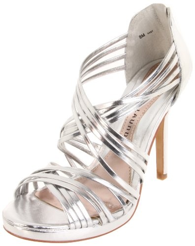 Chinese Laundry Women's Imagine Sandal,Metallic Silver,7.5 M US