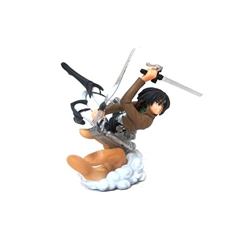 Attack on Titan Capsule Q Characters Figure - Mikasa by Animewild