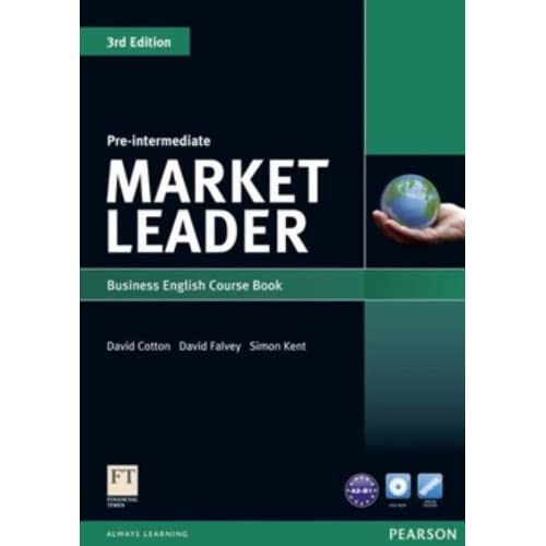 """Market Leader: Pre-Intermediate: Business English Course Book & Teacher's Resource Book"" + Audio CD"