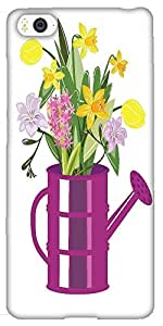 Snoogg Abstract Spring Illustration With Lots Of Flowers Designer Protective ...
