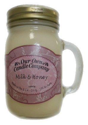 Milk & Honey 13 oz. Mug Candle