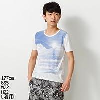 ハムネット(HAMNETT) 【大きいサイズあります】Tシャツ(アイランドプリントT)