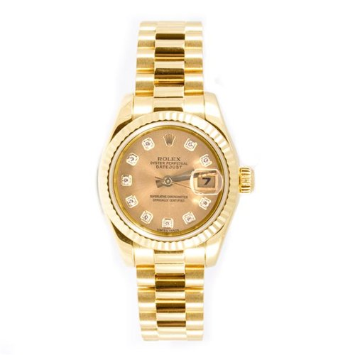 rolex-ladys-president-new-style-heavy-band-18k-yellow-gold-model-179178-fluted-bezel-champagne-diamo