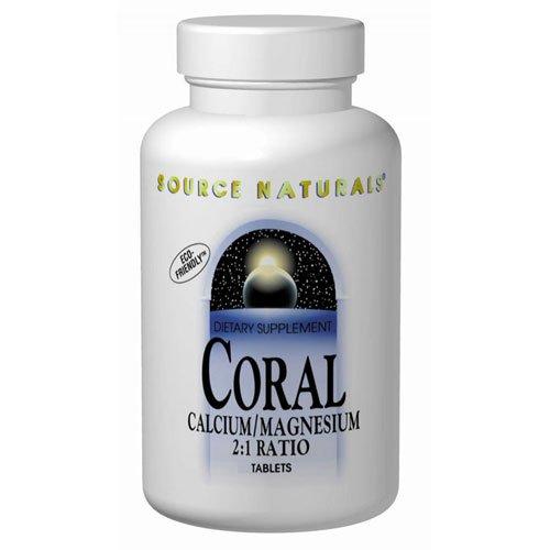 Source Naturals, Coral Calcium/Magnesium 2:1 Ratio - 45 Tabs