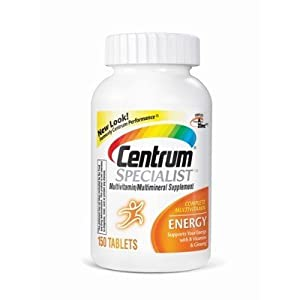Centrum Specialist Energy Multivitamin Multimineral - 150 Tablets