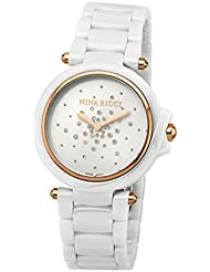 Nina Ricci Rose Gold White CER CAS White DIA DMD White CER Rose Gold BRT