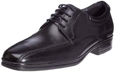 Hush Puppies Austell, Chaussures de ville homme Noir (Black Leather) 47 (13 UK)