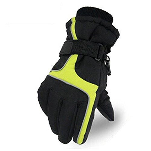 Getnow Men'S Korean Warm Winter Fashion Ski Gloves Wholesale Thickened Wind Electric Gloves