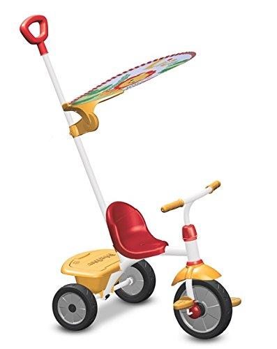 Fisher Price FP3300133 - Triciclo Glee Plus, Rosso e Giallo