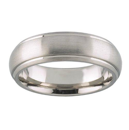 Size 8.5- 6mm Titanium Ring