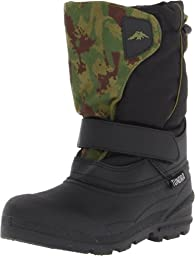Tundra Quebec Boot,Black/Green Camo,11 M US Little Kid