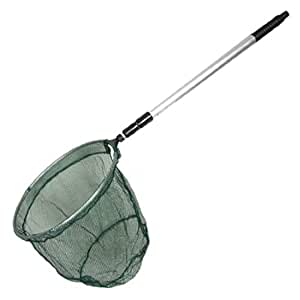Tackle 3 Sections Handle Grn Dipnet Fishing Landing Net
