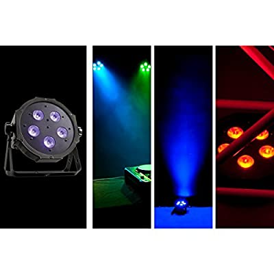 ADJ Products MEGA FLAT TRI PAK Bright Tri Colored LED Lighting System