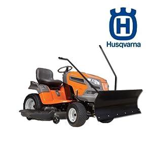 lame chasse neige pour tracteurs tondeuses husqvarna jardin. Black Bedroom Furniture Sets. Home Design Ideas