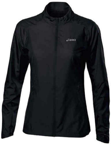 Asics Woven Women'S Running Jacket - Medium - Black