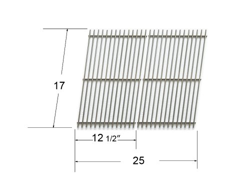 51022 - Char-Broil, Great Outdoors, Grill Chef, Thermos And Vermont Castings Gas Grill Stainless Steel Cooking Grid front-441834