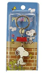 Peanuts Snoopy zipper pull - Snoopy keychain Key Chain