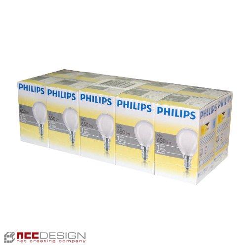 10-x-philips-60-w-opal-e14-luz-bombilla-bola-de-pera-pendientes-de-gota-clara