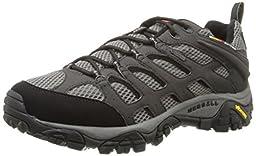 Merrell Men\'s Moab Gore-Tex Hiking Shoe, Beluga,10.5 M US