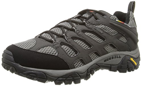 merrell-moab-gore-tex-mens-lace-up-low-rise-hiking-shoes-beluga-9-uk