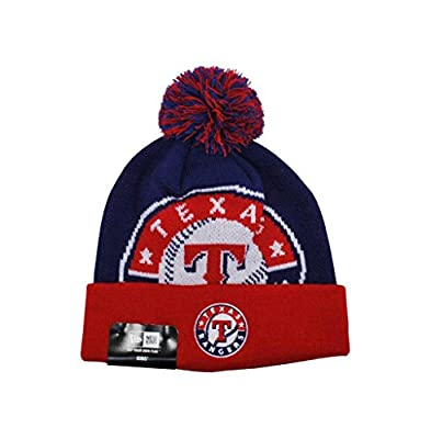 NEW ERA Youth Beanie Texas Rangers MLB Acrylic Navy Blue HAT CAP