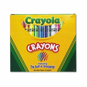 Crayola Classic Color Pack Crayons, Assorted 64/Box (Cyo52064D) front-967785