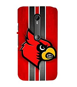 EPICCASE fiery angry bird Mobile Back Case Cover For Moto G 3rd Gen (Designer Case)