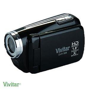 Vivitar DVR508 High Definition Digital Video Camcorder in Black + 8GB Accessory Kit