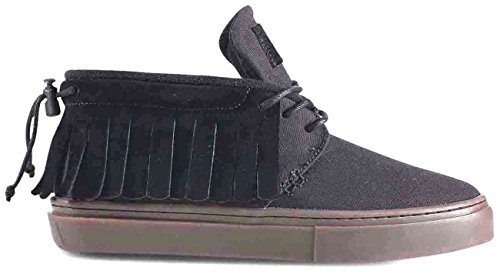 Clear Weather One-o-one Black Canvas Suede Size 10 US