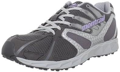 Montrail Women's Rogue Racer Trail Running Shoe,Titanium/Morning Mist,5 M US