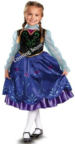 Disney Frozen Anna Toddler/kids Costume deluxe