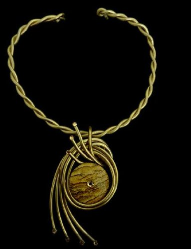 Necklace By Jeff Lieb #5439