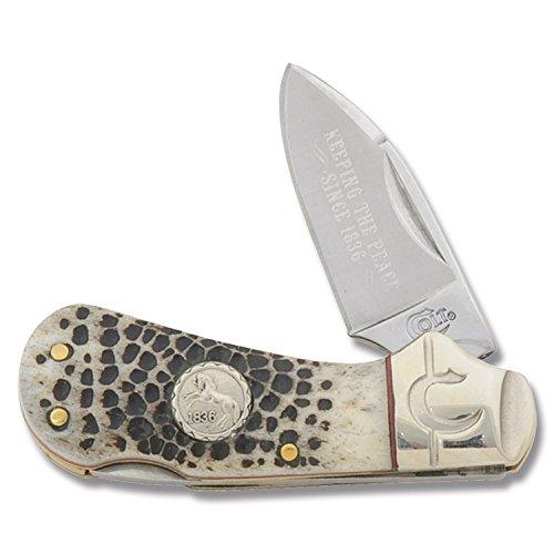 Colt Buckshot Bone Cub Lockback Knife