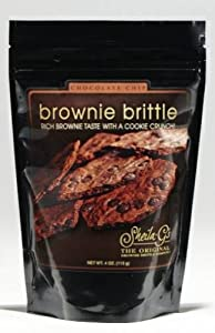 Sheila G's Brownie Brittle, Chocolate Chip, 4-Ounce (Pack of 6)