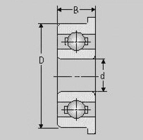 Miniatur Kugellager F626 ZZ, 6x19x6, F 626 ZZ