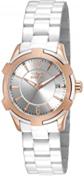 Invicta 15836 Ceramics Women's Quartz Stainless Steel White Bracelet Watch