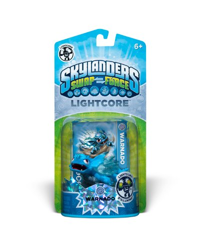 Skylanders SWAP Force Lightcore Individual Character Pack- Warnado