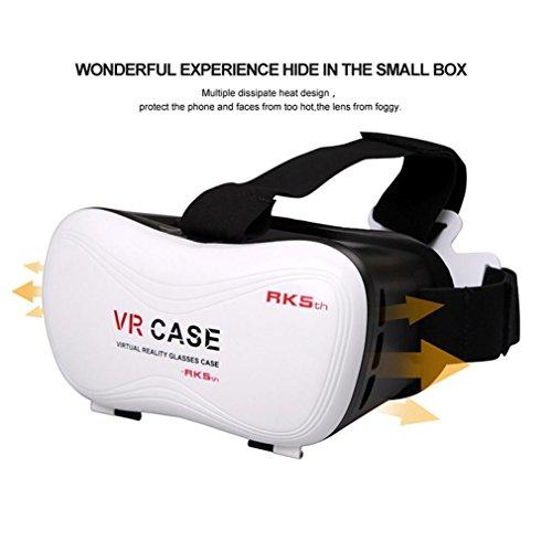 Coper ®New Fashion Virtual Reality 3D Glasses For Samsung Galaxy S7 + Remote Control